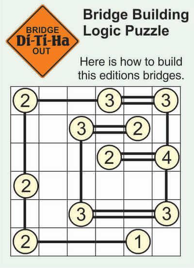 Di-Ti-Ha Bridge Puzzle April 10 2020