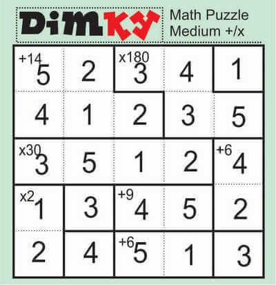 Dimkey Math Puzzle April 24 2020