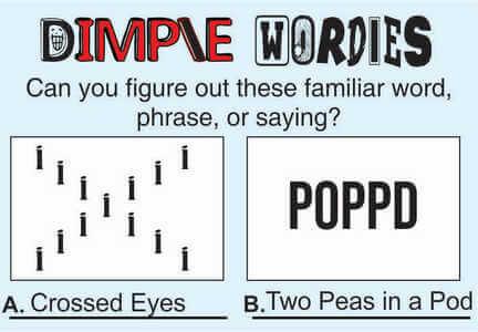 Dimple Wordies April 10 2020