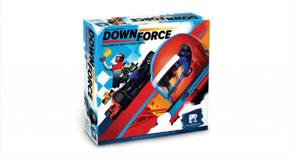 Downforce by Restoration Games - Boardgame Review