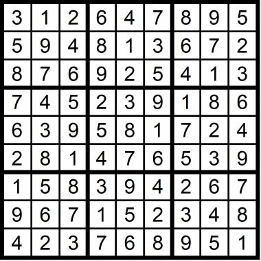 Easy Sudoku April 10 2020