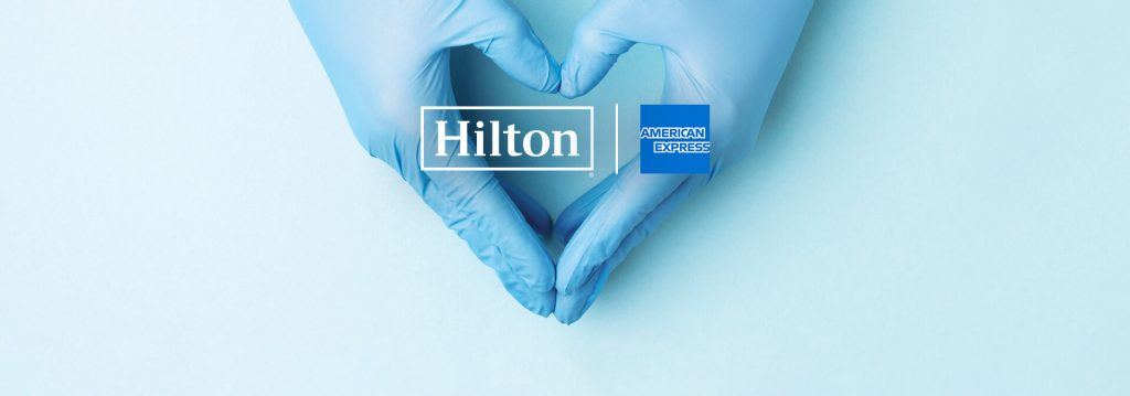 Hilton and American Express to Donate Up to 1 Million Rooms to Frontline Medical Professionals During COVID-19 Crisis