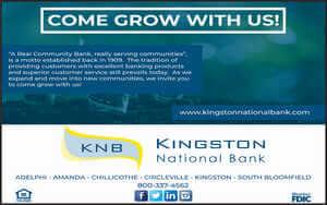 Kingston National Bank Come grow with us