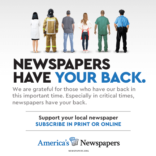 Local newspapers have your back