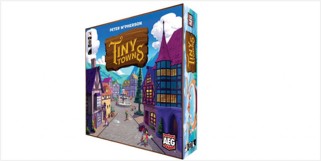 TINY TOWNS Alderac Entertainment Group - Boardgame Review