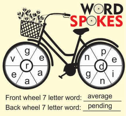 Word Spokes April 10 2020