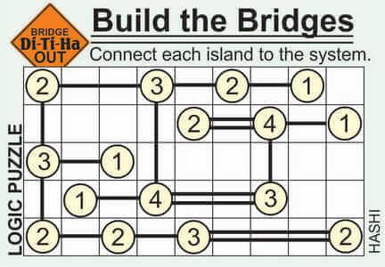 Di-Ti-Ha Bridge Puzzle May 22 2020