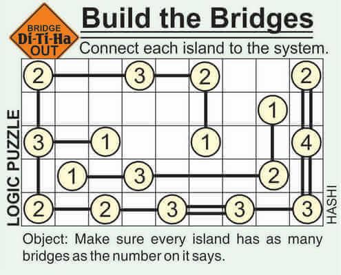 Di-Ti-Ha Build the Bridge Puzzle May 8 2020