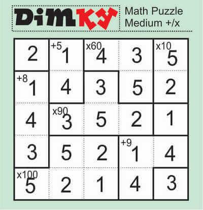 Dimkey Math Puzzle May 22 2020