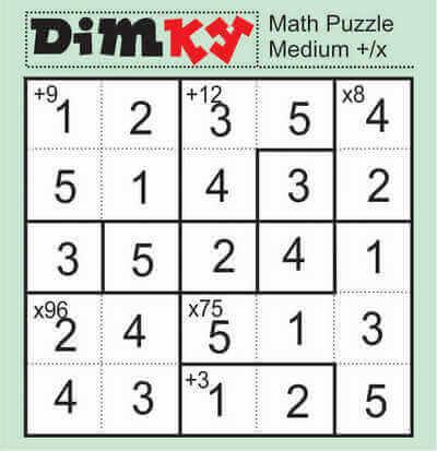 Dimkey Math Puzzle May 8 2020