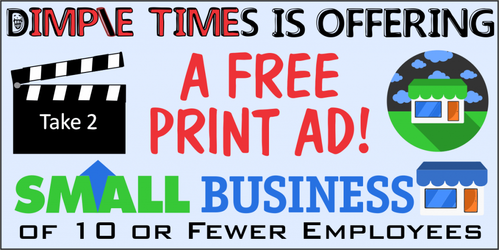 TAKE TWO: Dimple Times offering small business ads for free