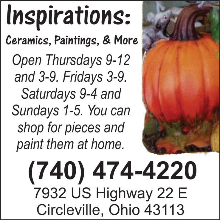Inspirations Ceramics Paintings and More