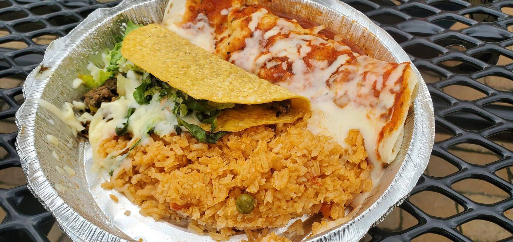 Lunch Special from El Pedregal Mexican Restaurant