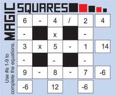 Magic Squares May 22 2020