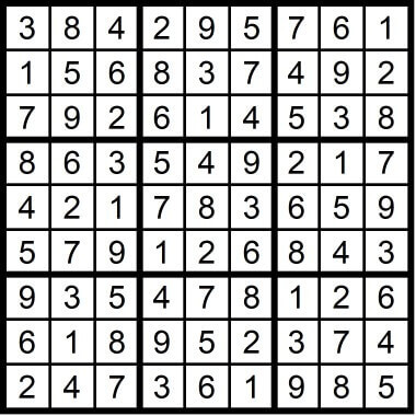 Sudoku Hard May 8 2020
