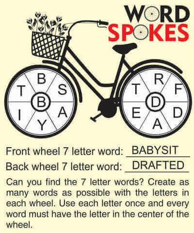 Word Spokes May 8 2020