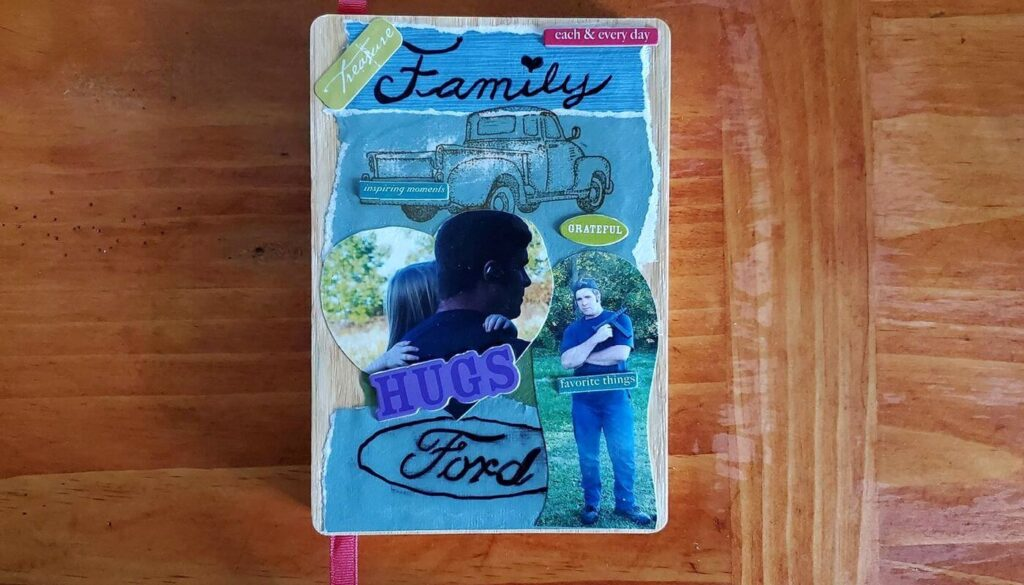 How to create a personalized cover for a journal