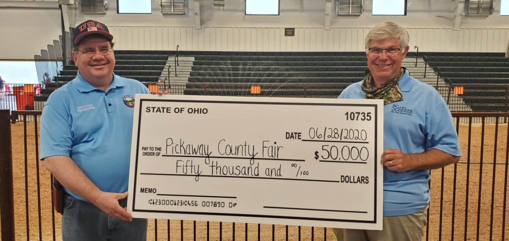 Pickaway County Fair receives $50,000 grant