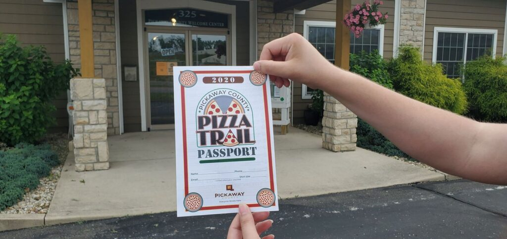 Visitors Bureau hosting Pizza Trail for Pickaway County