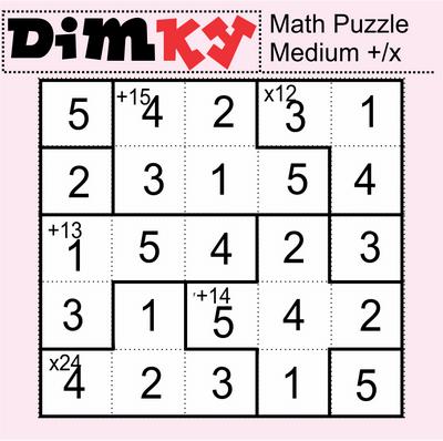 Dimkey Math Puzzle July 10 2020