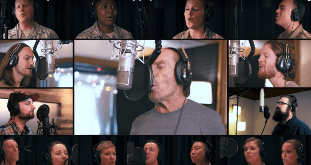 New Acapella version of God Bless the USA from Lee Greenwood and friends