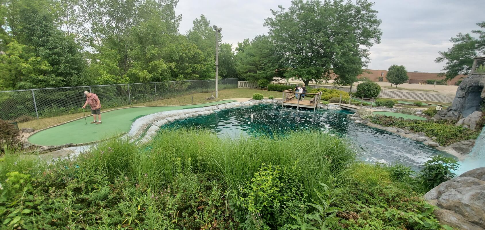 Mini-golf course at Wild Waters Fun Center