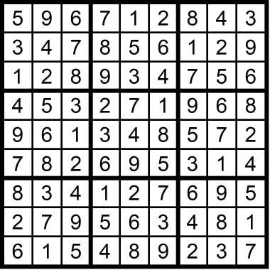 Sudoku Medium July 10 2020