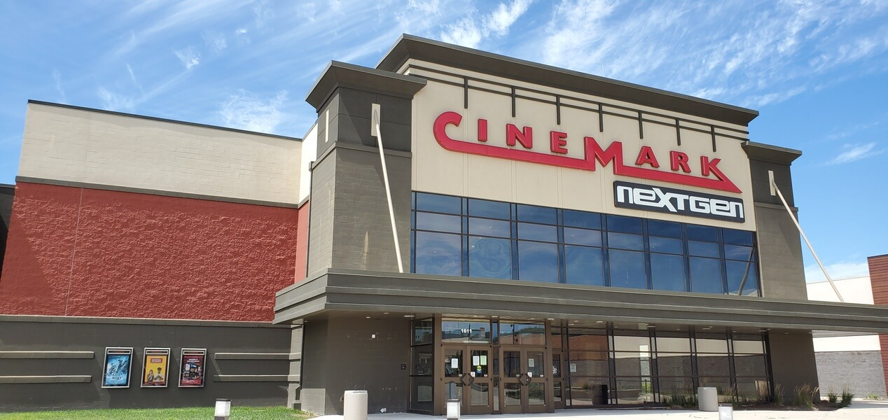 Cinemark Movie theater in Lancaster, Ohio