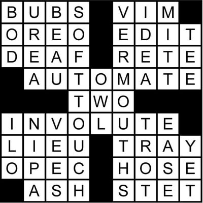 Crossword Puzzle Goes with a Brew August 14 2020