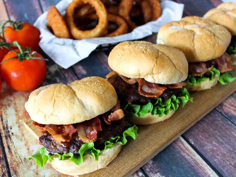 Juicy Bacon Burgers
