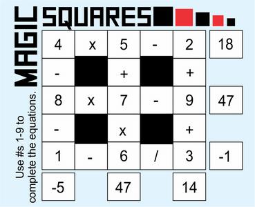 Magic Squares August 14 2020