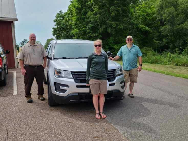 Medina Park District donates truck to Ross County Park District