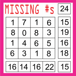 Missing Number Block Solution Page 6 August 14 2020