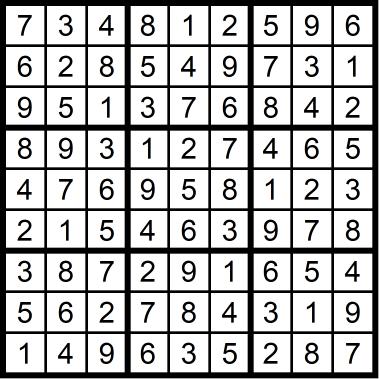 Sudoku Medium August 14 2020