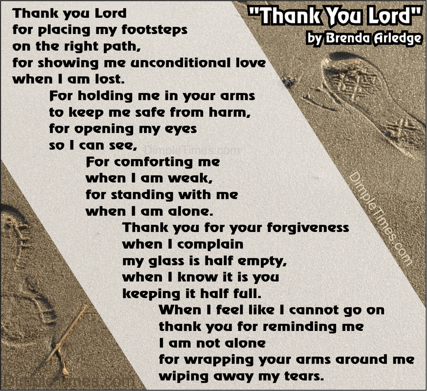 Thank you Lord by Brenda Arledge