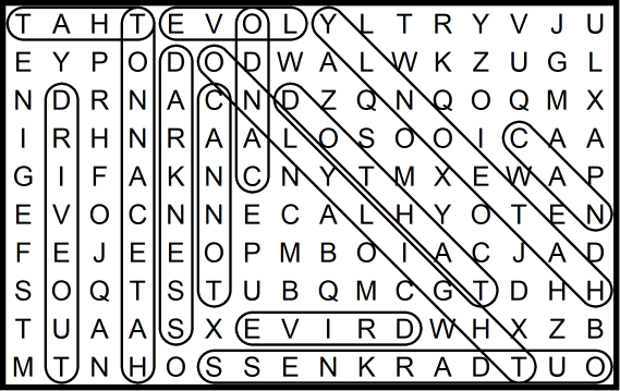 Word Search Martin Luther King Jr August 14 2020 Horizontal