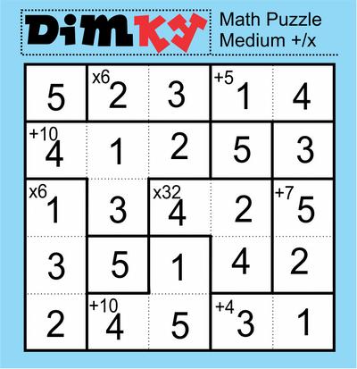 Dimkey Math Puzzle September 11 2020