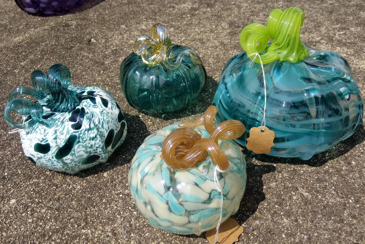 Glass color pumpkins Matt takacs