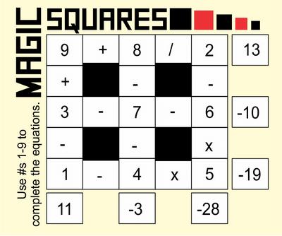 Magic Squares September 11 2020