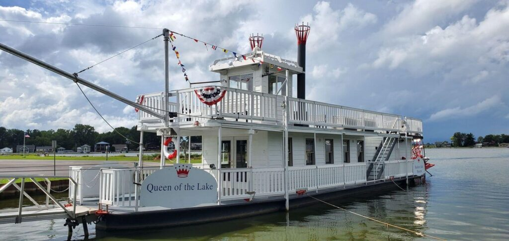 The Queen of the Lake III takes you back in time on Buckeye Lake