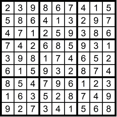 Sudoku Medium September 11 2020