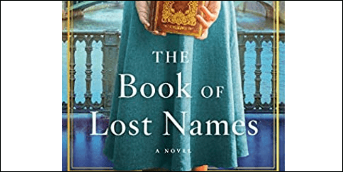 The Book of Lost Names by Kristin Harmel - Book Review