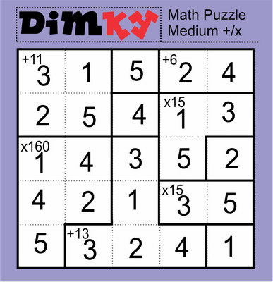 Dimkey Math Puzzle October 9, 2020