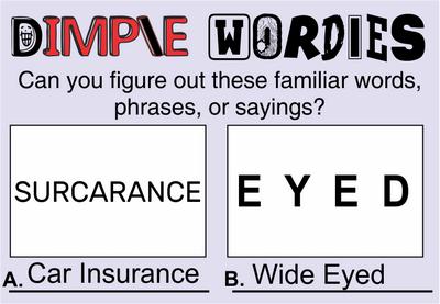 Dimple Wordies October 9, 2020