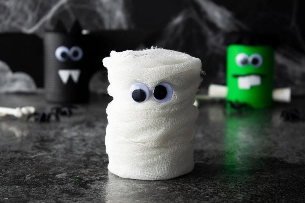 Halloween Spooky Mummy Can