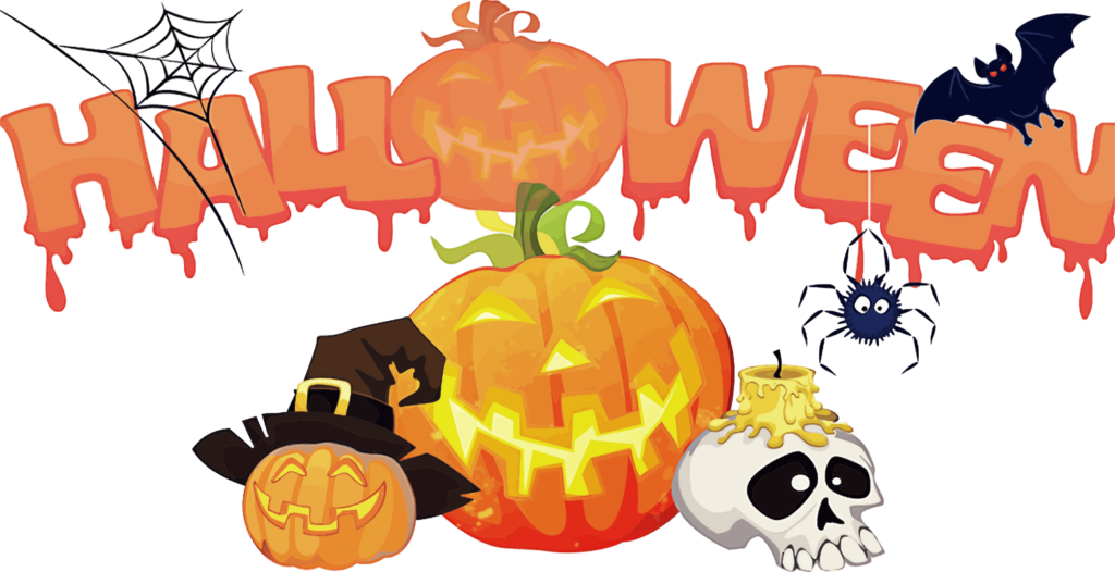 Halloween-themed word or phrase – Trivia