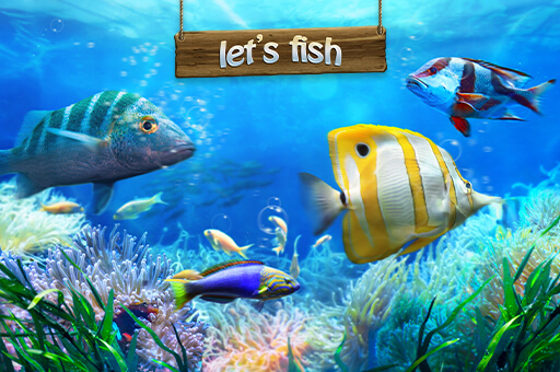 Let's fish – the biggest online fishing game