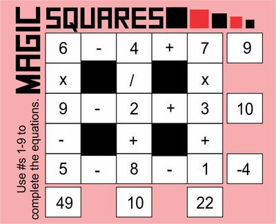 Magic Squares October 9, 2020