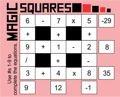 Magic Squares September 25, 2020