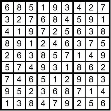 Sudoku Easy October 9, 2020